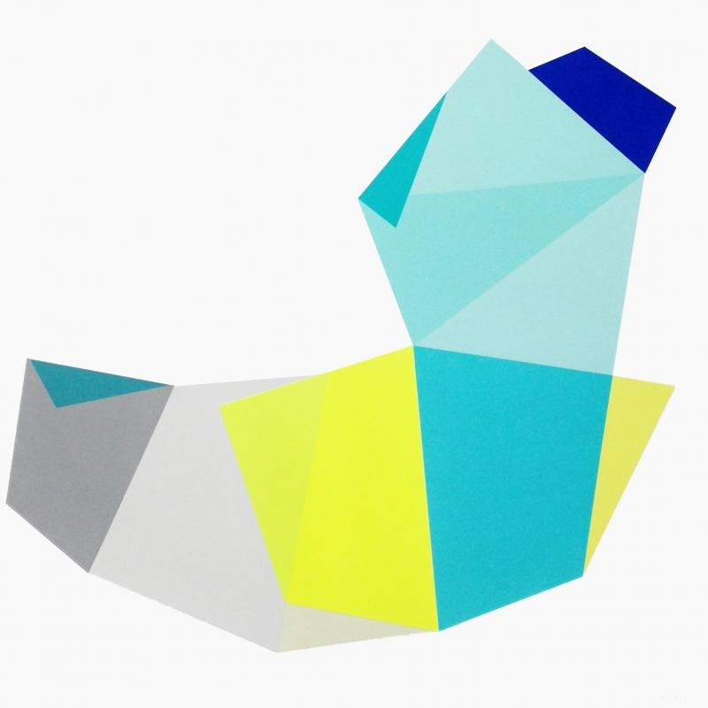 Glide 3   50 x 50 cm   2015